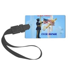 Yard Sign Never Forget-Ever Hono Luggage Tag
