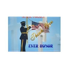 Yard Sign Never Forget-Ever Honor Rectangle Magnet