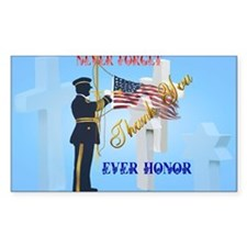 Yard Sign Never Forget-Ever Ho Decal