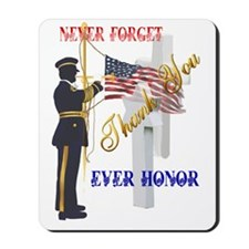My Memorial Day Soldier-Trans Mousepad