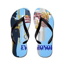 Greeting Card Never Forget-Ever Honor Flip Flops