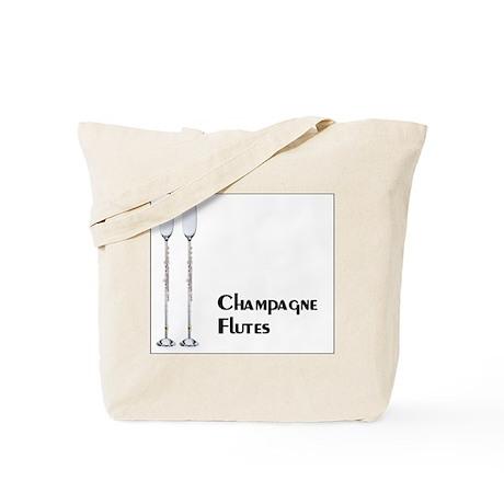 Champagne Flutes Tote Bag