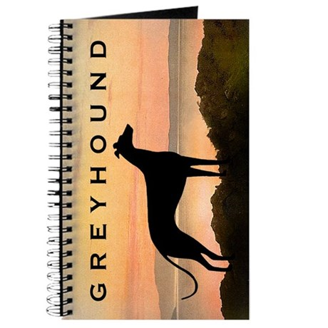 Greyhound Sunset Journal