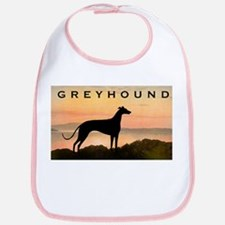 Greyhound Sunset Bib