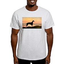 Greyhound Sunset T-Shirt
