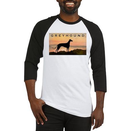Greyhound Sunset Baseball Jersey