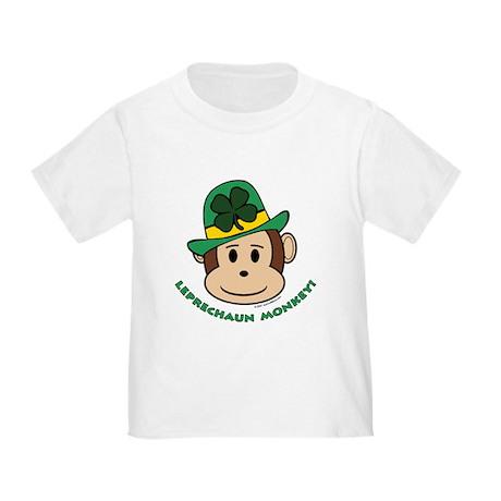 Leprechaun Monkey Toddler T-Shirt