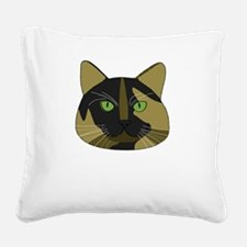 Tortitude Square Canvas Pillow