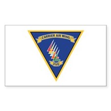 Carrier Air Wing FIVE Rectangle Decal