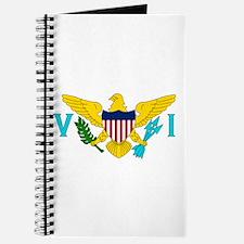 The US Virgin Islands flag Journal