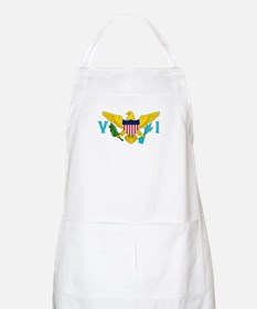 The US Virgin Islands flag BBQ Apron