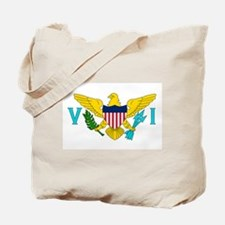 The US Virgin Islands flag Tote Bag