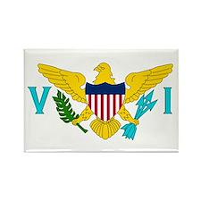 The US Virgin Islands flag Rectangle Magnet