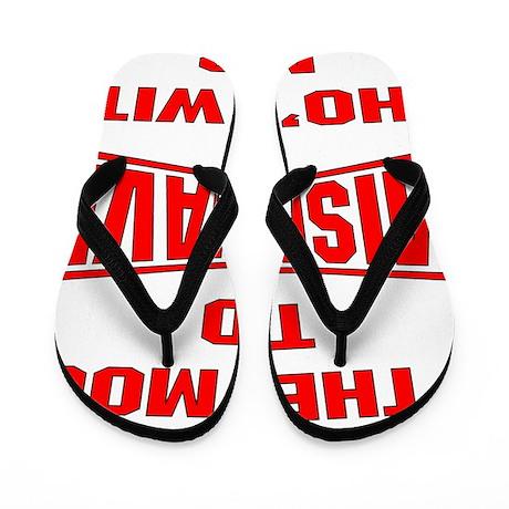 blk_mood_misbehave Flip Flops