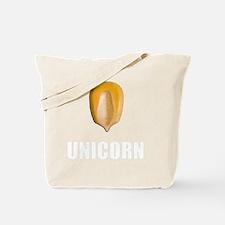 Unicorn Corn White Tote Bag