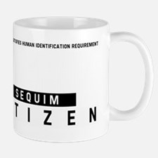 Sequim Citizen Barcode, Mug