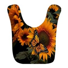 Sunflower Radiance Monarch Butterfly Bib
