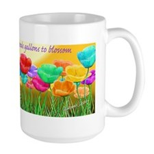 Poppy Field, Artist Dennis Edward Green Mug