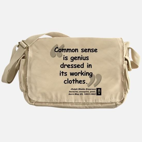 Ralph Waldo Emerson Messenger Bag