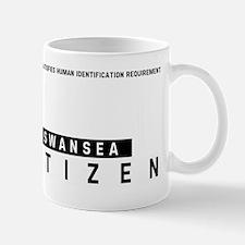 Swansea Citizen Barcode, Small Small Mug