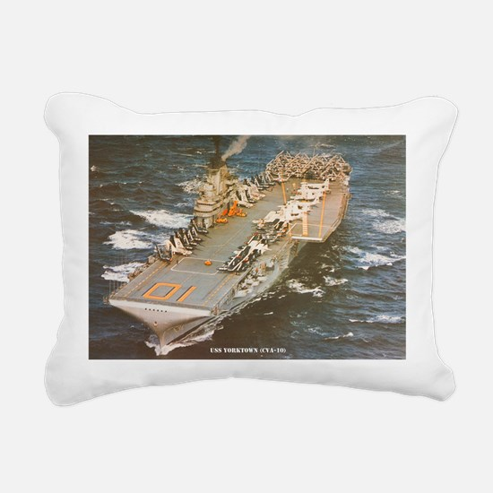 yorktown cva large frame Rectangular Canvas Pillow