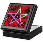 Plasma Pentagram Keepsake Box