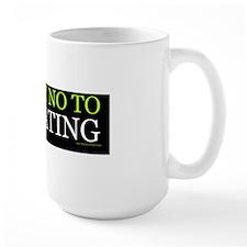 Just Say No To Tailgating (sticker) Mug