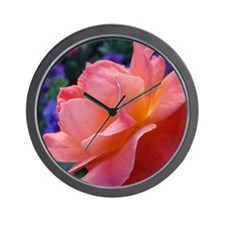 Quiet Rose Wall Clock