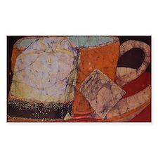 Teacup batik Decal