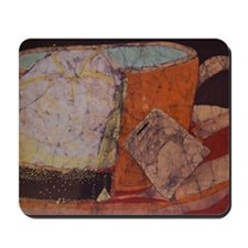 Teacup batik Mousepad
