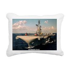 yorktown cvs framed pane Rectangular Canvas Pillow