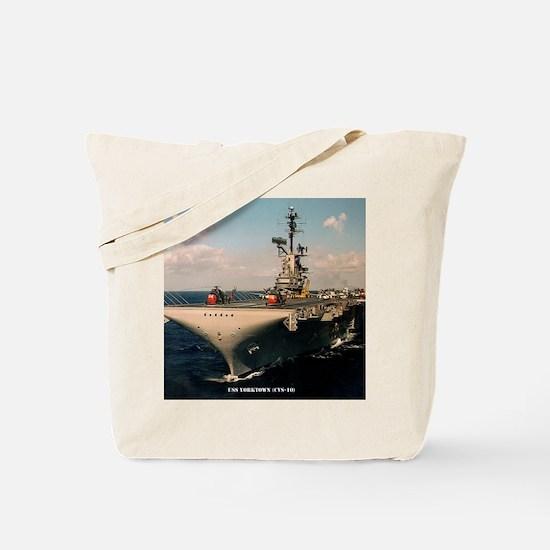 yorktown cvs framed panel print Tote Bag