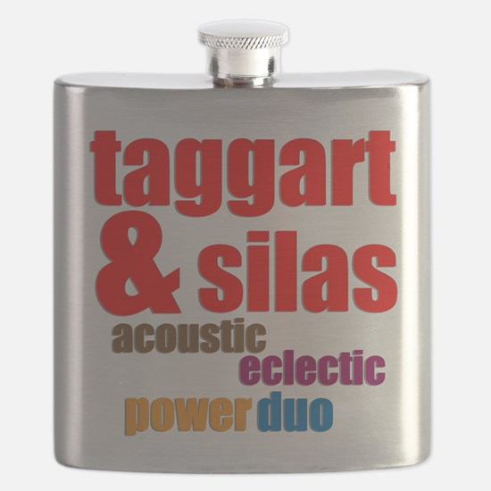 Taggart Silas Acoustic Eclectic Power Duo Flask