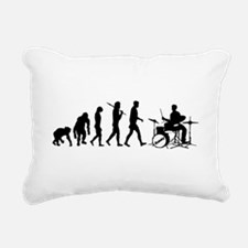 Drummers Drum Rectangular Canvas Pillow