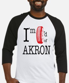 Tired of Akron Baseball Jersey