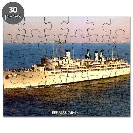 ajax framed panel print Puzzle