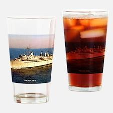 ajax framed panel print Drinking Glass