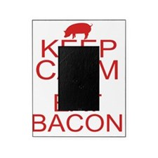 keepCALM-bacon-red Picture Frame