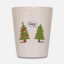 Fairy Santa Shot Glass