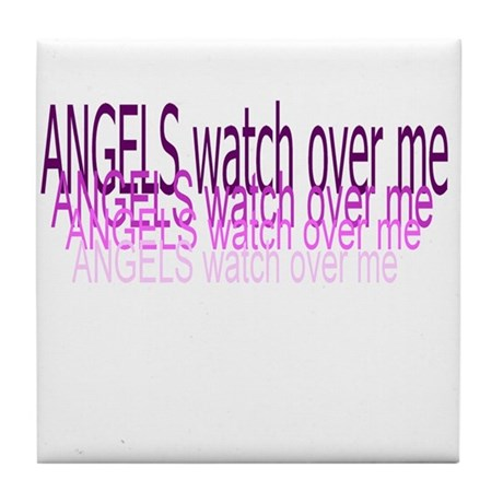 Angel's watch Tile Coaster
