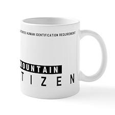 Mountain Citizen Barcode, Mug