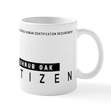 Shrub Oak Citizen Barcode, Mug
