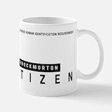 Throckmorton Citizen Barcode, Mug