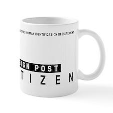 Sign Post Citizen Barcode, Mug