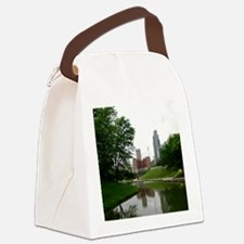 Reflections on Omaha 1 Canvas Lunch Bag