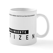 Nacimiento Citizen Barcode, Mug