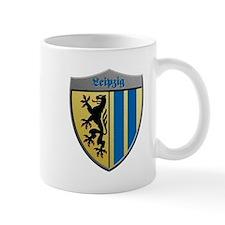 Leipzig Germany Metallic Shield Mugs