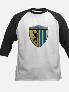 Leipzig Germany Metallic Shield Baseball Jersey