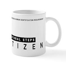 Natural Steps Citizen Barcode, Mug