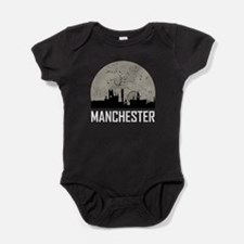 Manchester Full Moon Skyline Body Suit